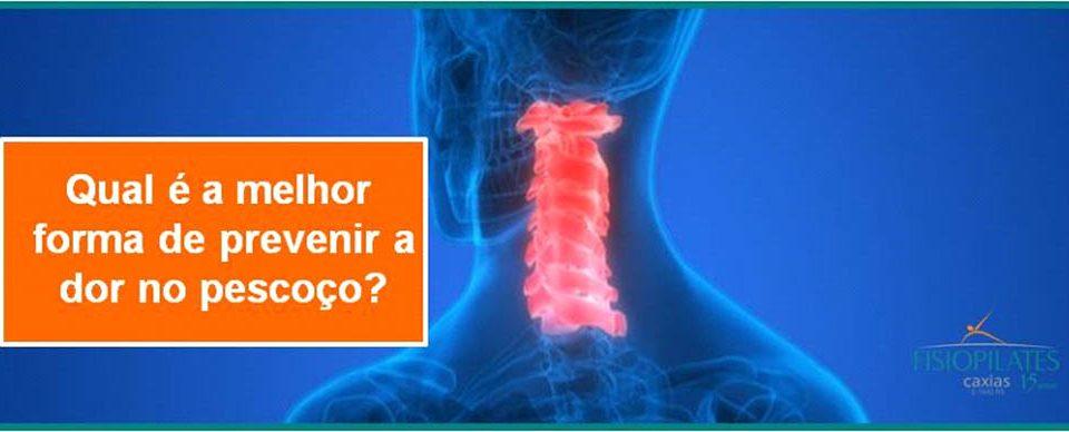 Como prevenir dores no pescoço