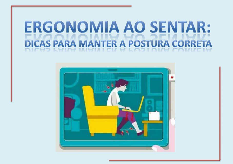 e-Book: Ergonomia ao sentar – dicas para manter a postura correta