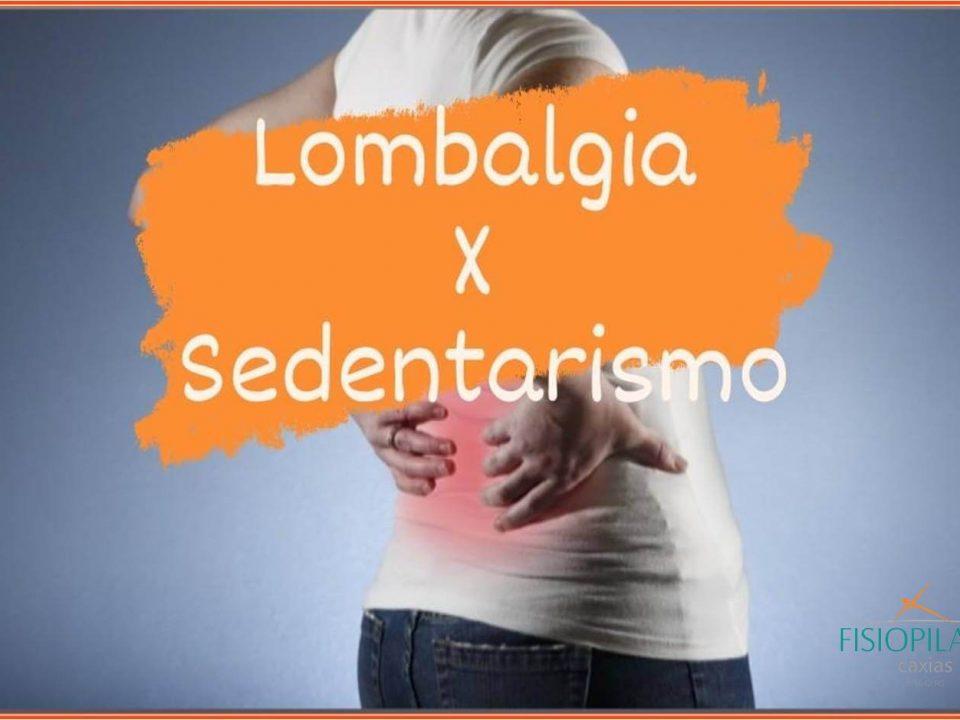 Lombalgia versus sedentarismo